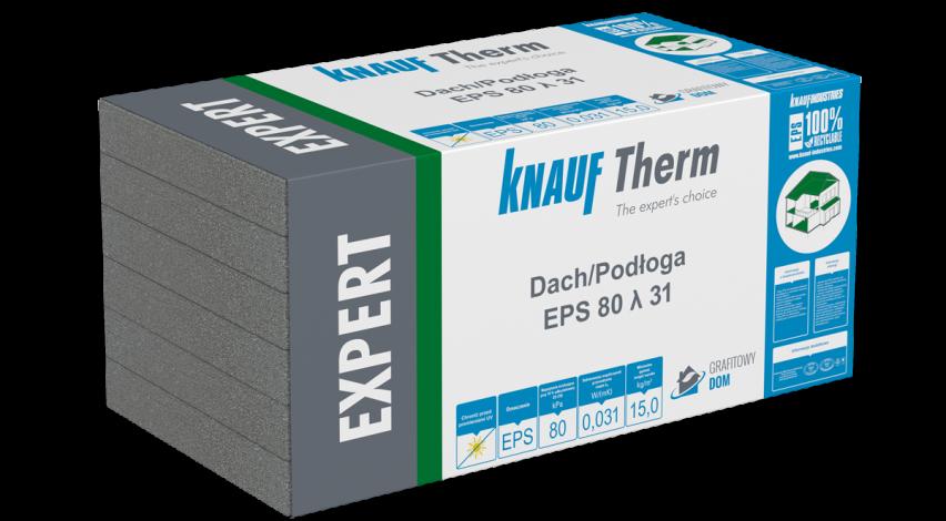 Knauf Therm Expert Dach/Podłoga EPS 80 λ 31