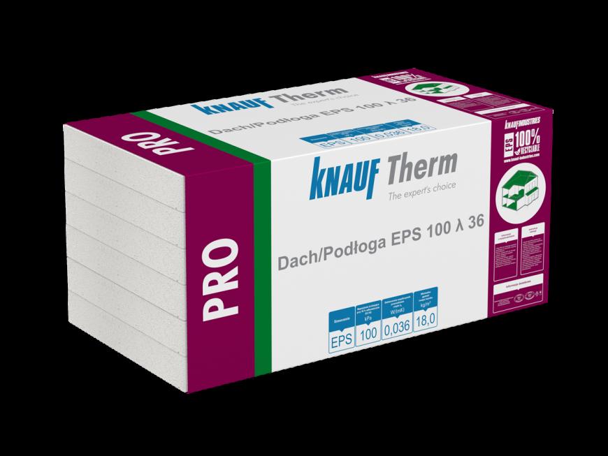 Knauf Therm - Pro Dach/Podłoga EPS 100 λ 36