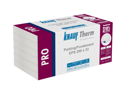Knauf Therm - Pro Parking/Fundament EPS 200 λ 33
