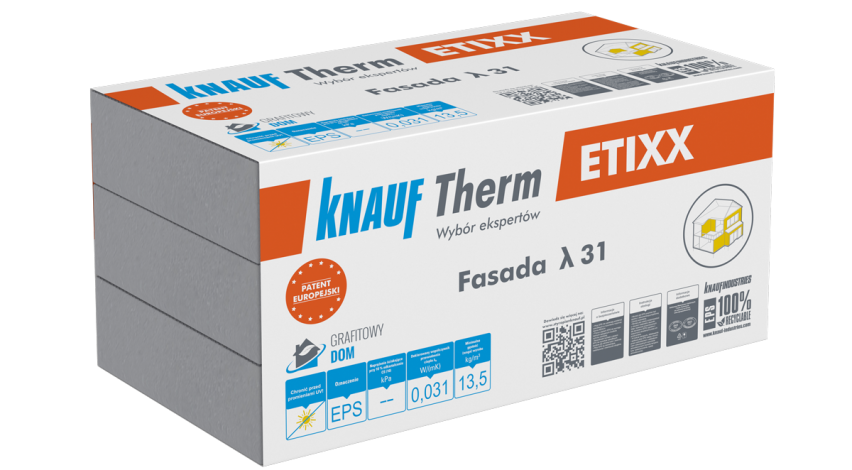 Knauf Therm - Etixx Fasada EPS λ 31