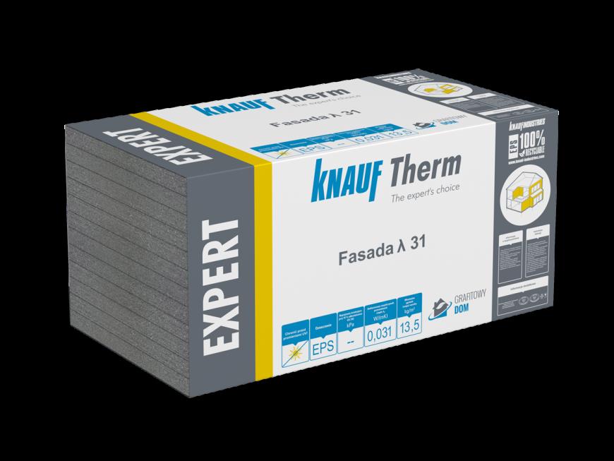 Knauf Therm - Expert Fasada EPS λ 31