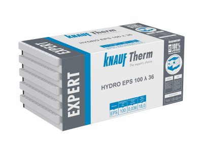 Knauf Therm - Expert HYDRO EPS 100 λ 36