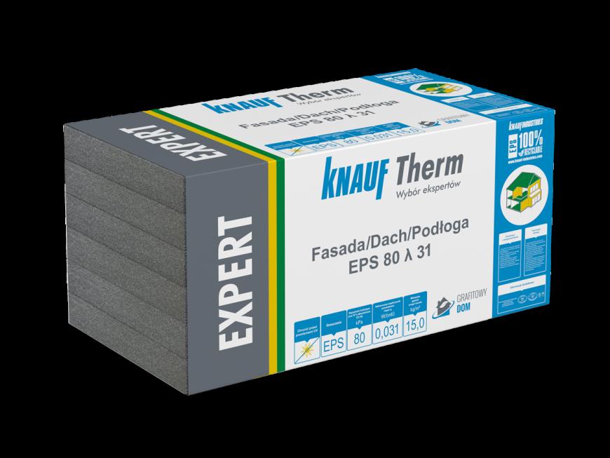 Knauf Therm - Expert Fasada/Dach/Podłoga EPS 80 λ 31