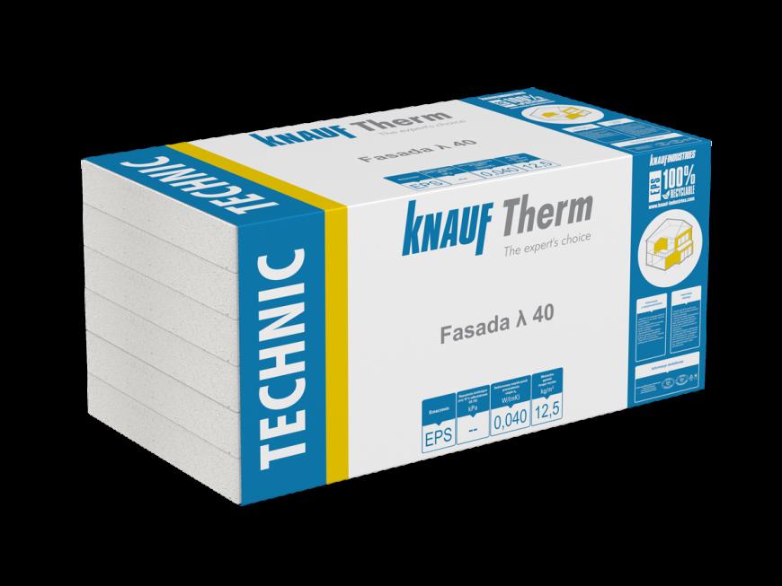 Knauf Therm - Technic Fasada EPS λ 40