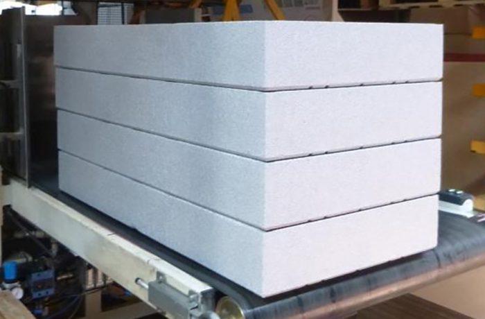 Produkcja płyt styropianowych naelewację Knauf Therm ETIXX